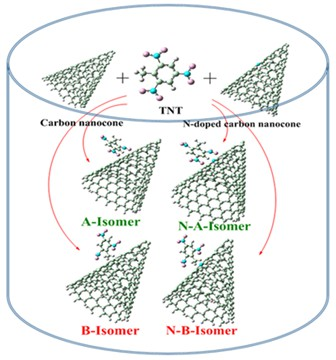 Adsorption of TNT on the surface of pristine and N-doped carbon nanocone: A theoretical study
